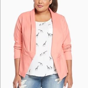 Torrid | Cut Away Blazer Latana Solid Open